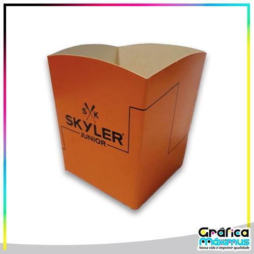 Caixa de papelão personalizada preço