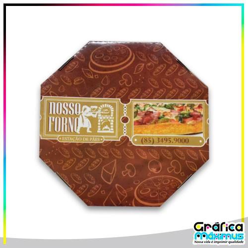 Embalagem para pizza fortaleza