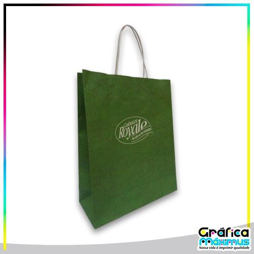 Fornecedor de sacolas de papel