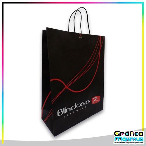 Onde comprar sacolas de papel personalizadas